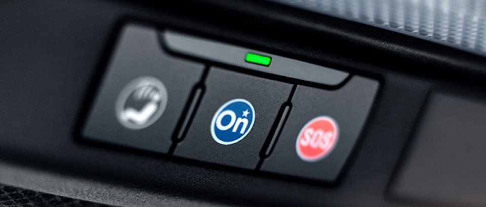 Emergency Services can be at the push of a button with OnStar