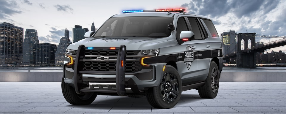 All-New 2021 Chevy Tahoe Police Pursuit Vehicle | GM Fleet
