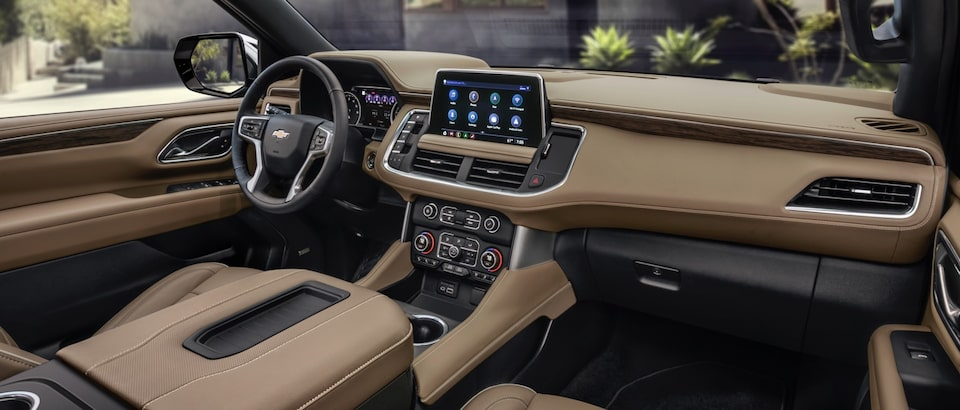 GM Fleet All-New 2021 Chevrolet Tahoe and Suburban Safety Features