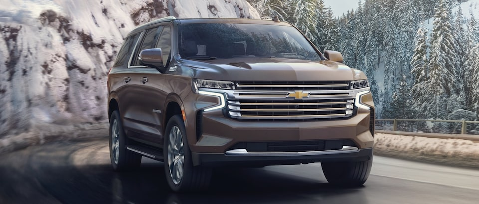 The All-New 2021 Chevy Suburban from GM Fleet offers an Independent Rear Suspension
