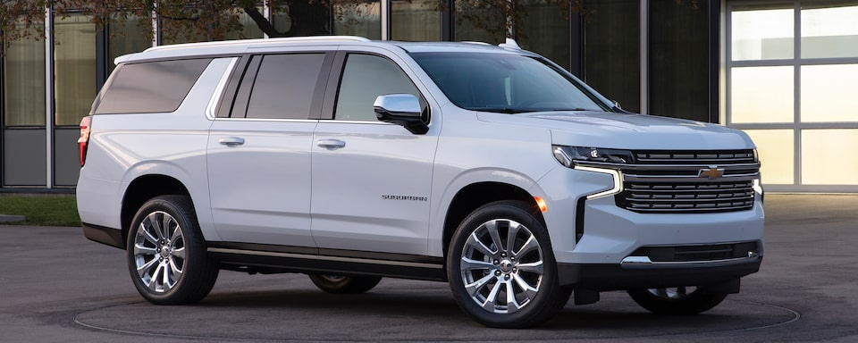 See what's new with the 2021 Chevrolet Suburban at GM Fleet