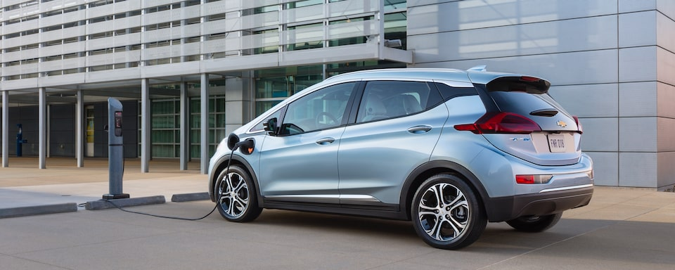 2019 Chevrolet Bolt EV Electric Vehicle Exterior Charging View