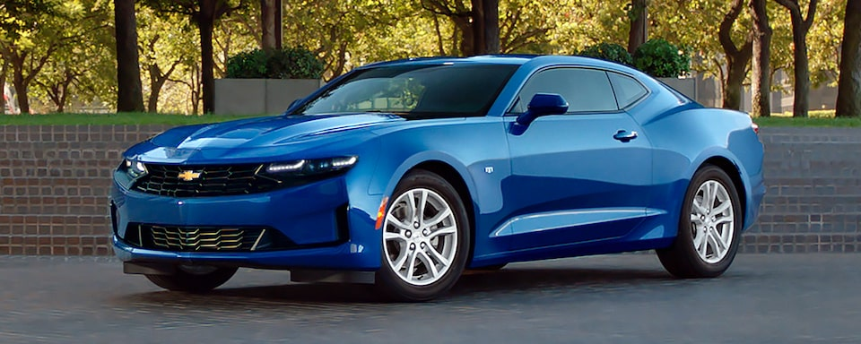 2019 Chevrolet Camaro Sports Car Exterior Front Side View