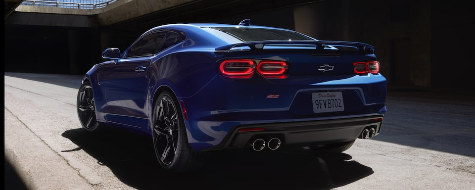 2019 Chevrolet Camaro Sports Car Exterior Rear View
