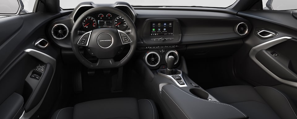 2019 Chevrolet Camaro Sports Car Interior Dash View