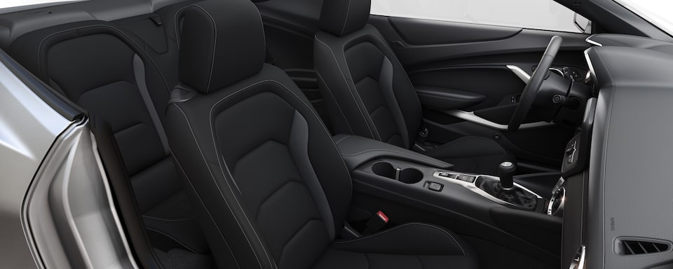 2019 Chevrolet Camaro Sports Car Interior Front Seat View
