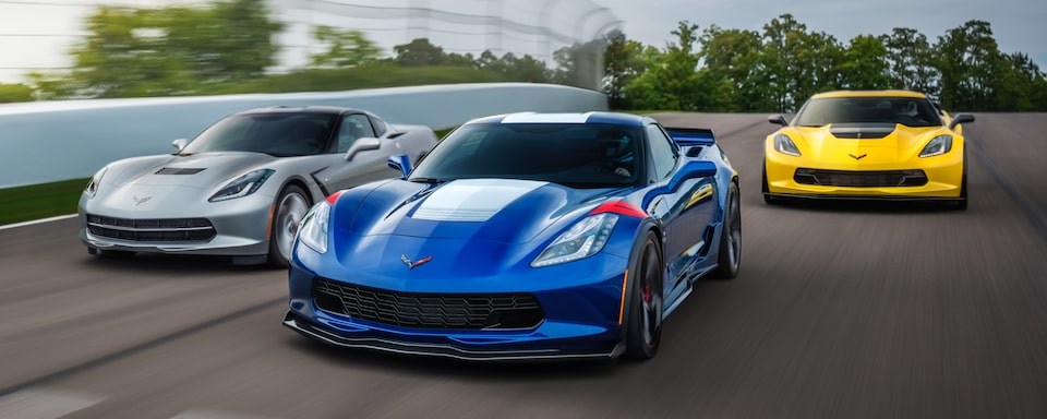 2019 Chevrolet Corvette  Sports Car Front Exterior Racing View