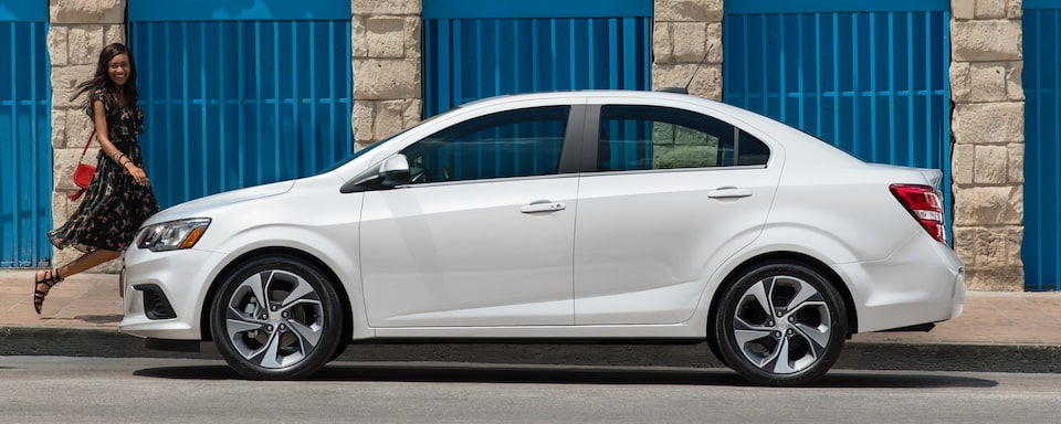 2019 Chevrolet Sonic Small Car Exterior Side View