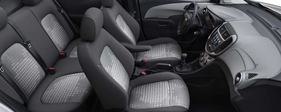 2019 Chevrolet Sonic Small Car Interior Seat View