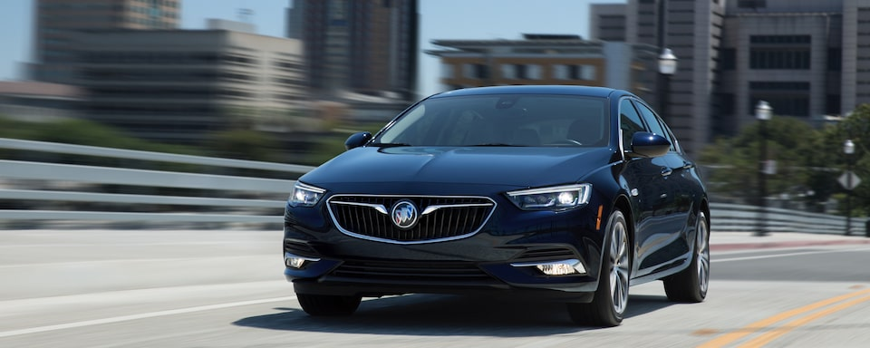 2020 Buick Regal Sportback Luxury Hatchback Exterior Front View