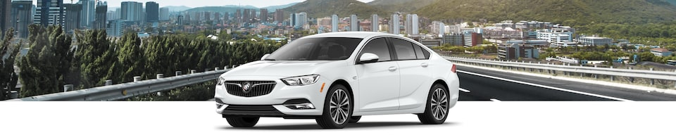 2020 Buick Regal Sportback Luxury Hatchback Exterior Side View