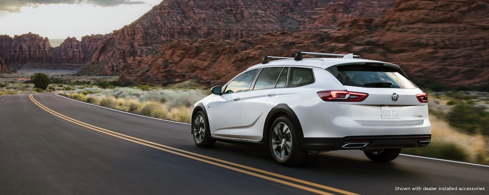 2020 Buick Regal TourX Luxury Wagon Exterior Rear View