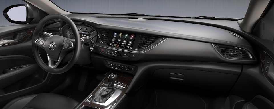 2020 Buick Regal TourX Luxury Wagon Interior Dash View