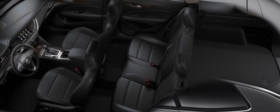 2020 Buick Regal TourX Luxury Wagon Interior Seat View