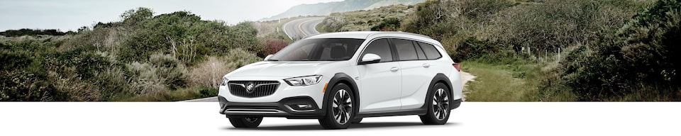 2020 Buick Regal TourX Luxury Wagon Exterior Side View