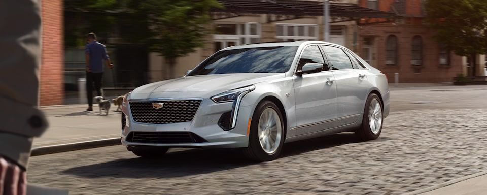 2020 Cadillac CT6 Luxury Sedan Exterior Front Side View