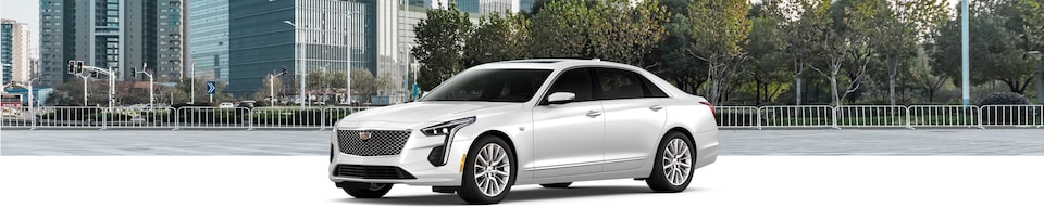 2020 Cadillac CT6 Luxury Sedan Exterior Side View