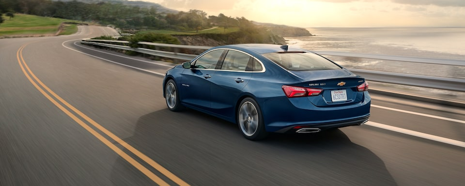2020 Chevrolet Malibu Sedan Rear Side View