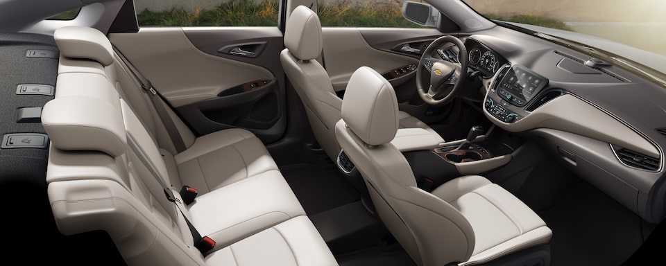 2020 Chevrolet Malibu Sedan Interior Seat View