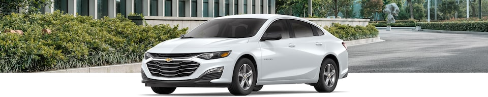2020 Chevrolet Malibu Sedan Exterior Front Side View