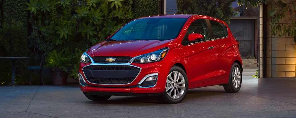 2020 Chevrolet Spark Compact Car Exterior Side View