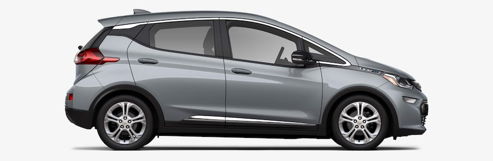 2021 Chevrolet Bolt EV Electrical Features: Side Profile View