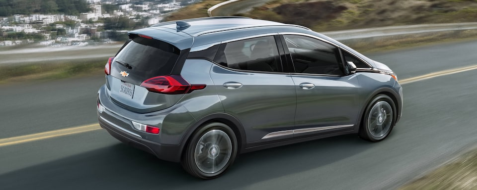2021 Chevrolet Bolt EV Rear Side View