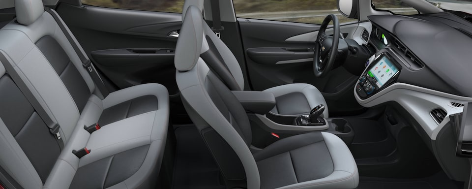 2021 Chevrolet Bolt EV Interior Rear Seats