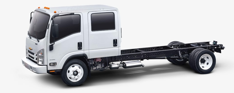 2020 Chevrolet Low Cab Forward Key Features