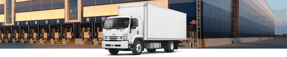 2020 Chevrolet Low Cab Forward Cab Over Truck Front Side View