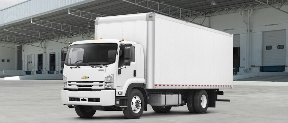 2020 Chevrolet Low Cab Forward Truck Front Side View