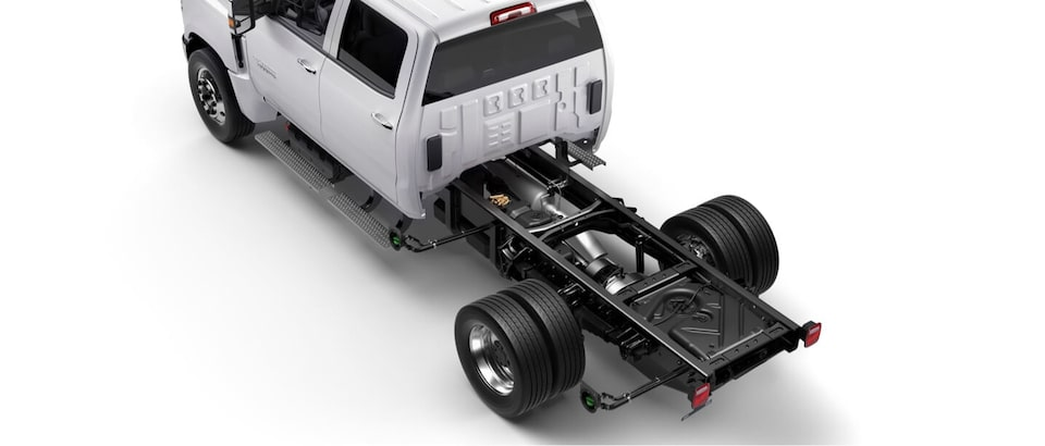 2020 Chevrolet Low Cab Forward Bed Upfit Ready