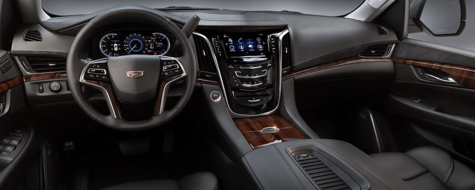 2019 Cadillac Escalade Luxury SUV Interior Dash View