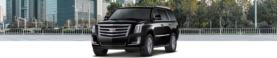 2019 Cadillac Escalade Luxury SUV Exterior Front Three-quarters View