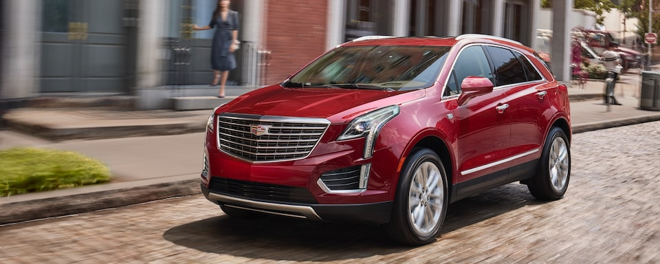 2019 Cadillac XT5 Crossover Exterior Front View