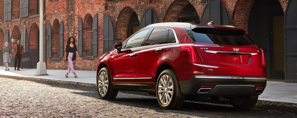 2019 Cadillac XT5 Crossover Exterior Rear View