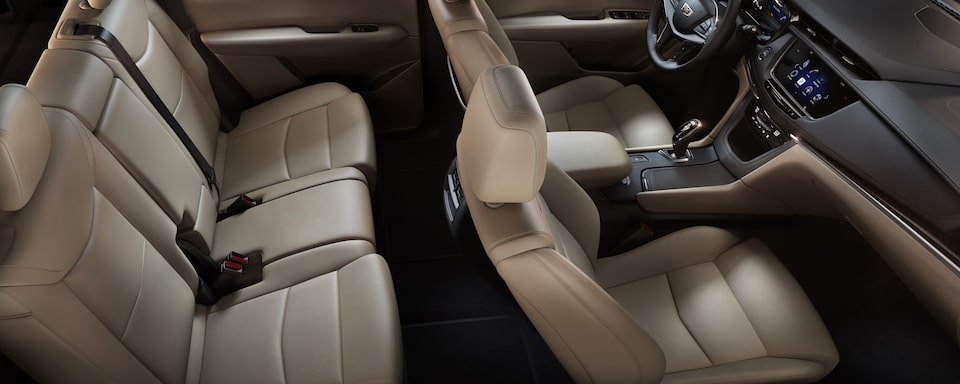 2019 Cadillac XT5 Crossover Rear Seat View
