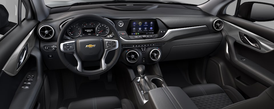 2019 Chevrolet Blazer Interior Dash View