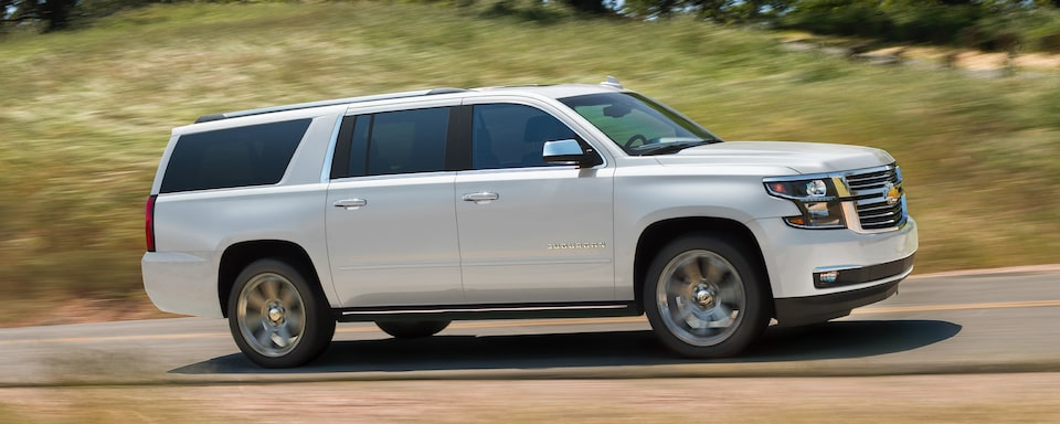 2019 Chevrolet Suburban Large Truck Exterior Side View