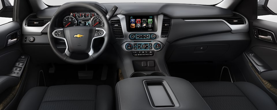 2019 Chevrolet Tahoe Full Size SUV Interior Dash View