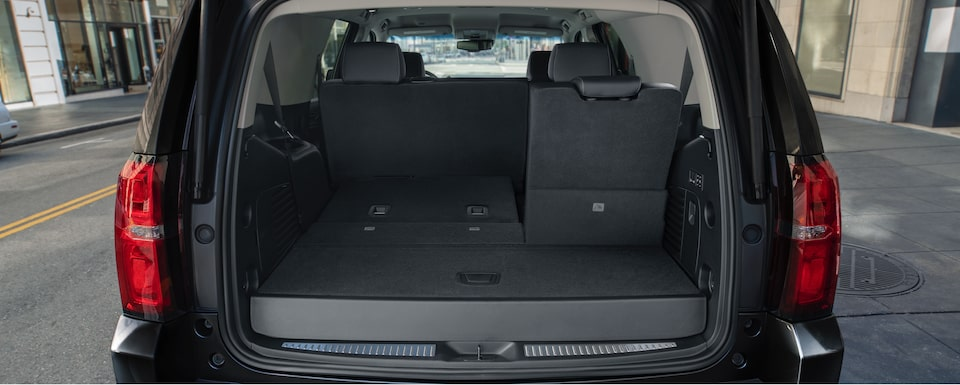 2019 Chevrolet Tahoe Full Size SUV Interior Cargo View