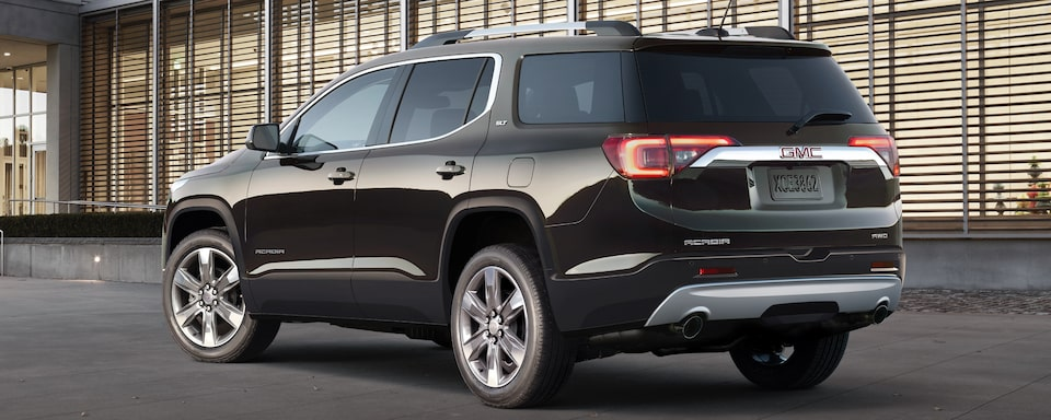 2019 GMC Acadia Mid-size SUV Exterior Rear View