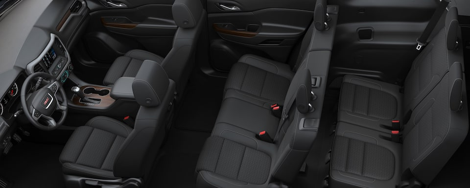 2019 GMC Acadia Mid-size SUV Interior Seat View