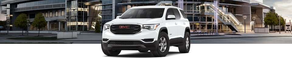 2019 GMC Acadia Mid-size SUV Front Exterior View