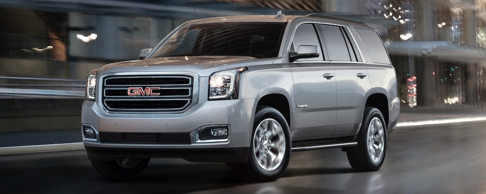 2019 GMC Yukon Full size SUV Exterior Front View