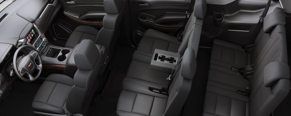 2019 GMC Yukon Full size SUV Interior Seat View