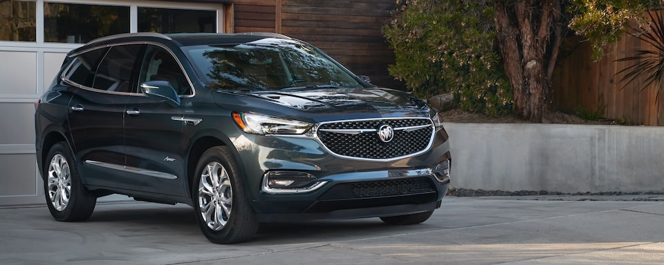 2020 Buick Enclave Mid-size Luxury SUV Exterior Side View