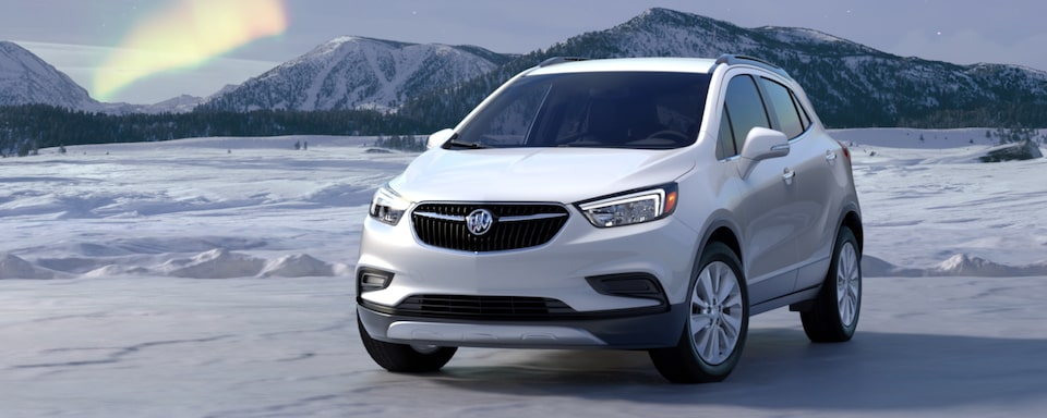 2020 Buick Encore Small Luxury SUV Exterior Side View