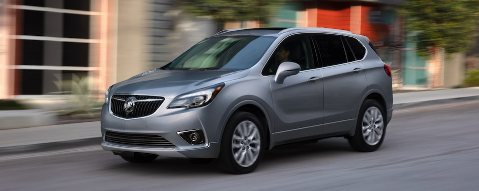 2020 Buick Envision Compact Luxury SUV Exterior Side View