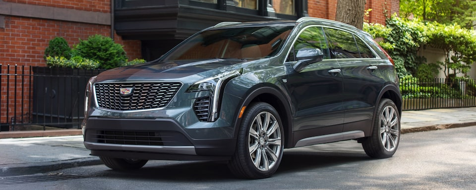 2020 Cadillac XT4 Crossover SUV Exterior Front Side View
